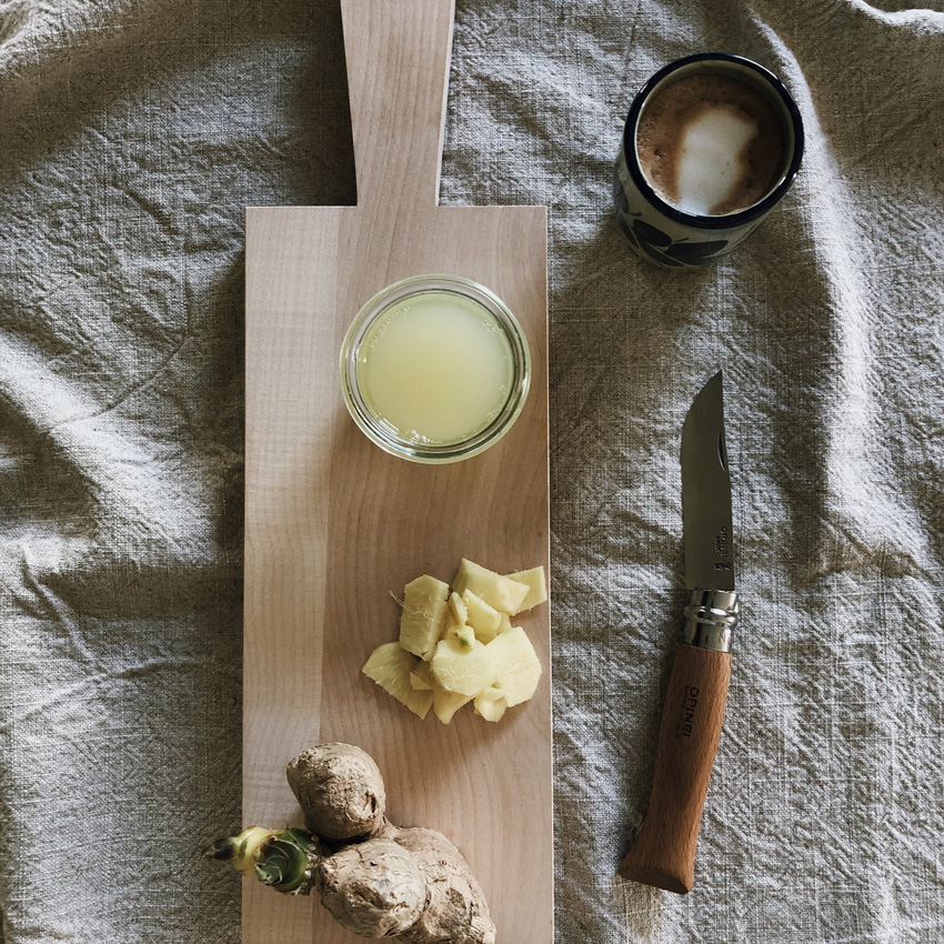 3 coffeeDIY Ingwersirup - DIY | KW 37