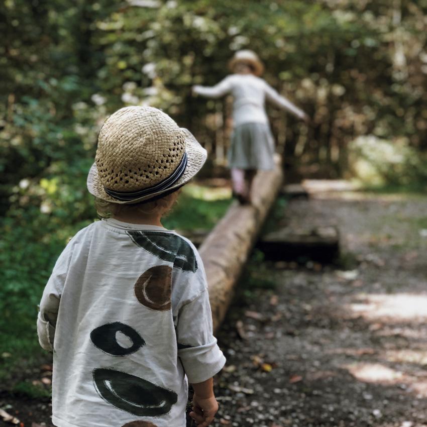 5 Walderlebniszentrum gruenwald Wald Familienausflug Muenchen balangsieren - MUNICH | Walderlebniszentrum Grünwald