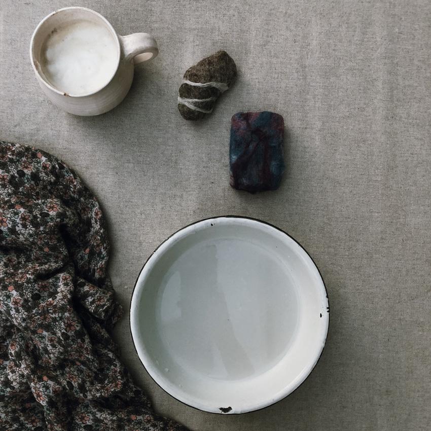 6 Seife filzen Stein Schafsmilch Maerchenwolle - DIY | KW 35