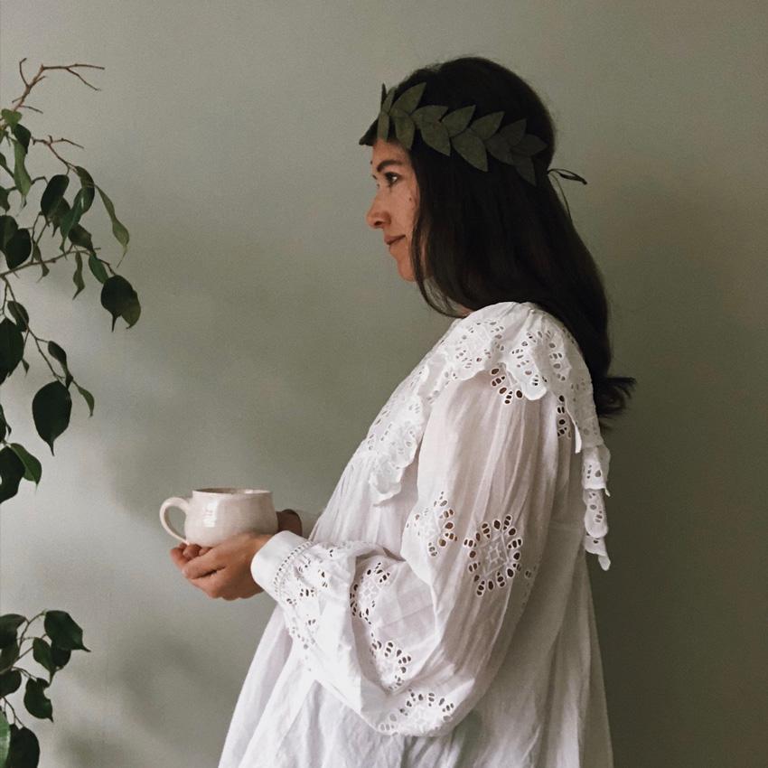 6 coffeeDIY Blaetterkorne Filz - DIY | KW 37