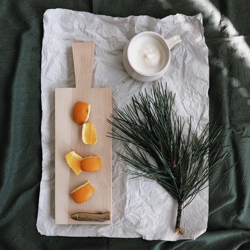 1 Orangenschalensterne - DIY | KW 38
