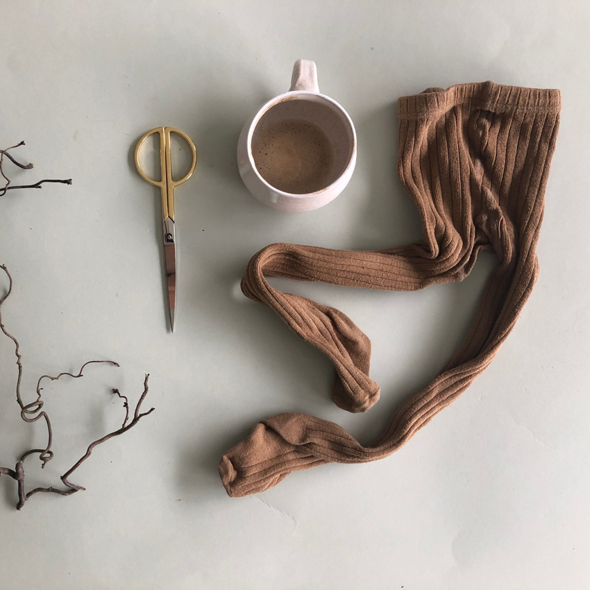 1 Strumpfhose Socken - DIY | KW 38