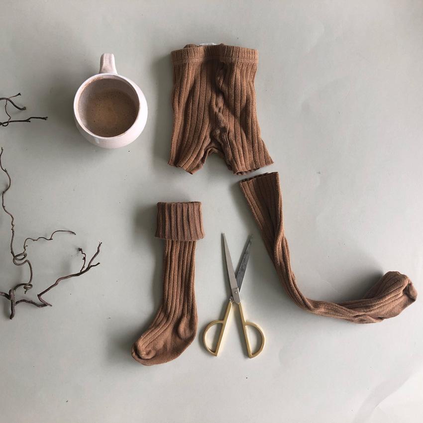 2 Strumpfhose Socken - DIY | KW 38