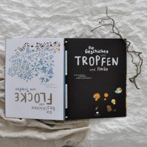 2018 Bohem Die Geschichte von Tropfen und Flocke Buch Seite Titel 300x300 - Die Geschichte von Tropfen und Flocke
