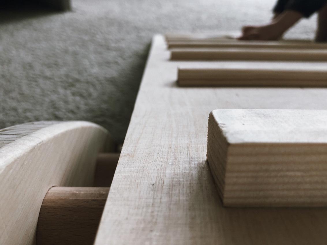 Kletterbogen Holzwippe : Unser bogenleiter anleitung bauteileliste rock my day