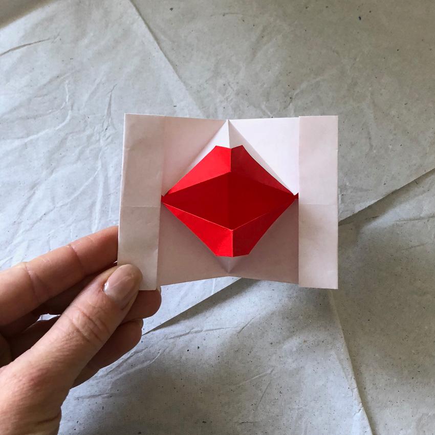 coffeeDIY Kussmund Origami 01 - DIY   KW 41