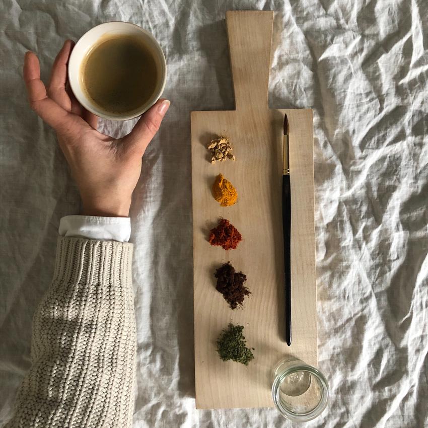 coffeeDIY Gewuerze Farben natuerlich unbedenklich 01 - DIY | Malen mit Gewürzen