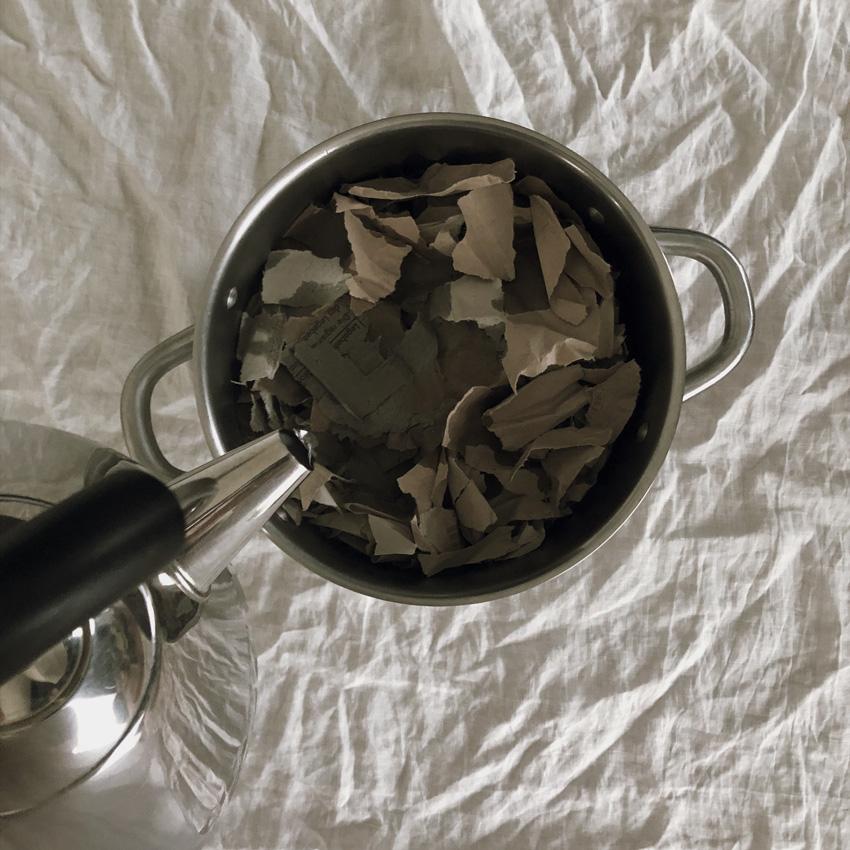 coffee DIY Papier schoepfen Klorolle Eierkarton 03 - DIY | Papier schöpfen - einfach, simpel, nachhaltig