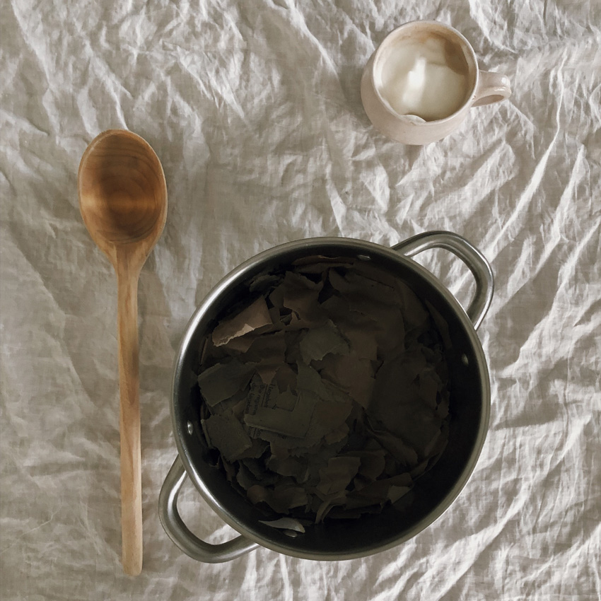 coffee DIY Papier schoepfen Klorolle Eierkarton 04 - DIY | Papier schöpfen - einfach, simpel, nachhaltig