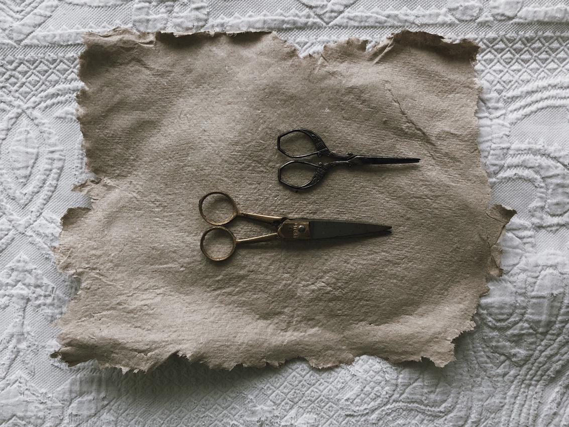 coffee DIY duennes Papier Blaetterkranz 02 - DIY | Papier schöpfen - einfach, simpel, nachhaltig