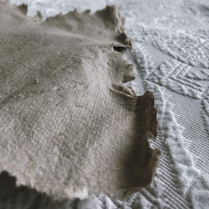 coffee DIY duennes Papier Blaetterkranz 03 - DIY | Papier schöpfen - einfach, simpel, nachhaltig