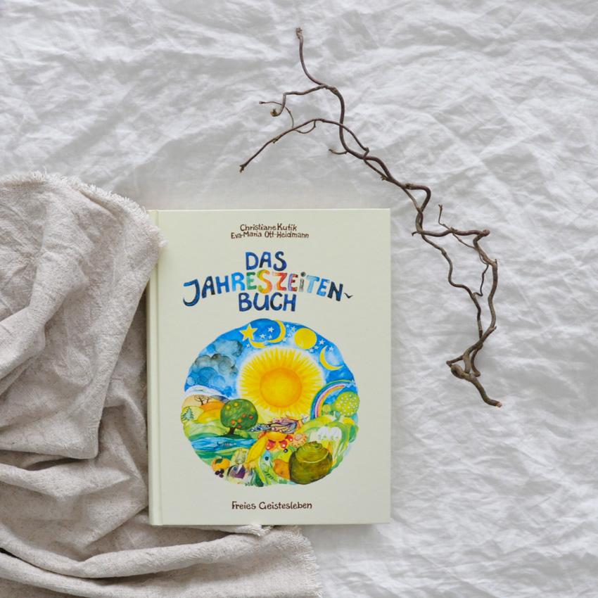 2019 Freies Geistesleben Jahreszeitenbuch Seite Titel - Bienenwachs | leuchtend & duftend durchs Jahr Richtung Silvester