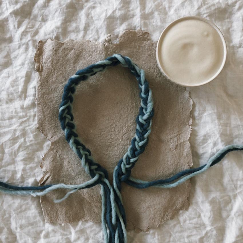 coffeeDIY Sterntaler Krone Dochtwolle 03 - DIY | ein Sterntalerkostüm - simpel, einfach, schön