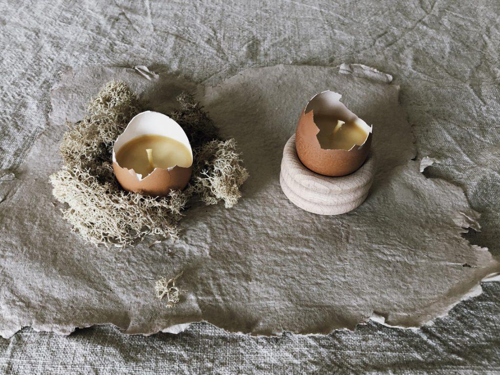 coffee DIY Eierschalen Kerzen Bienenwachs Kerzen gießen upcycling Eierbecher Holz Titel 1024x768 - OSTERN | all meine Beiträge rund um Strauß - Tisch - Osternest