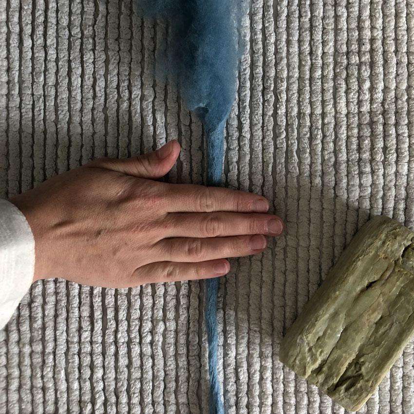 14 Filzschnur Maerchenwolle filzen Nassfilzen bunt - Filzschnüre | ganz einfach selbst gemacht + eine Menge an wundervollen Spielideen
