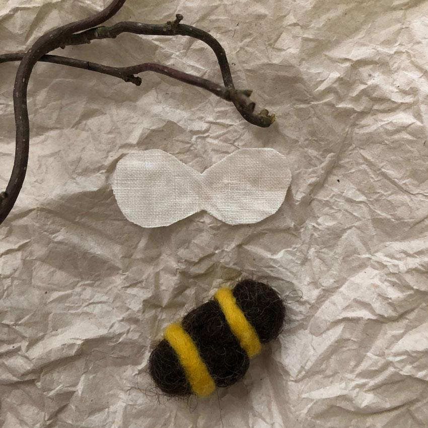 Filzbienen Bienenstock filzen Schurwolle Nassfilzen diy 4 - DIY | Bienen filzen