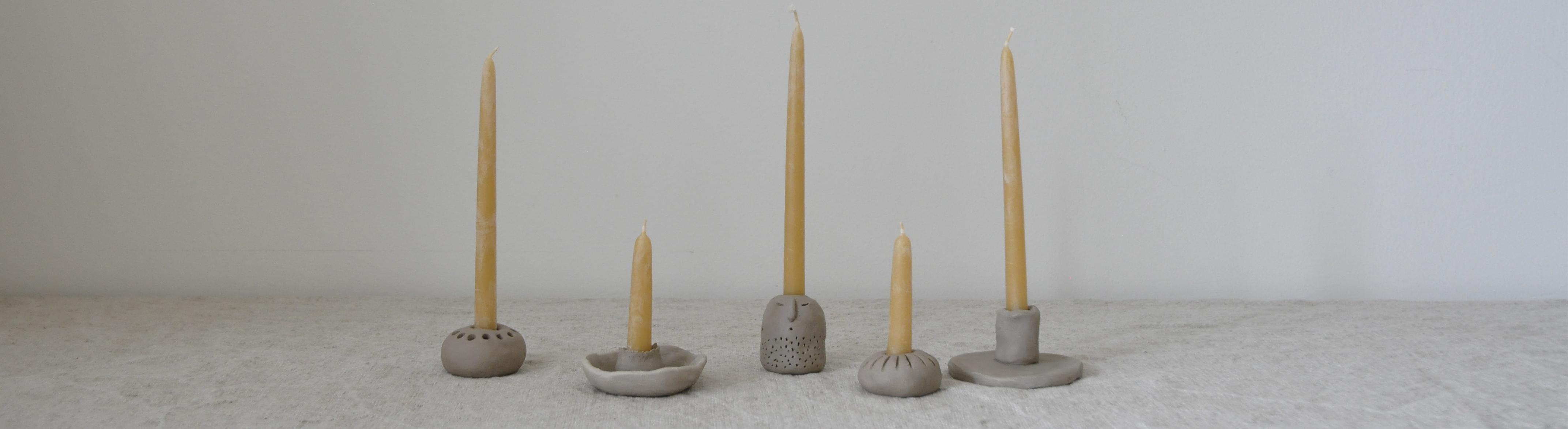 Rockmyday Titelbild Kerzen - achtsam im Advent | Die schönsten Geschenke aus Modelliermasse