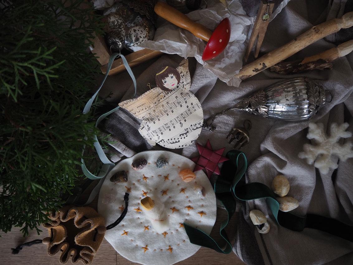 Adventsspirale Filz 08 - Achtsam im Advent | 4 etwas andere Adventskalender + Kleinigkeiten zum Befüllen
