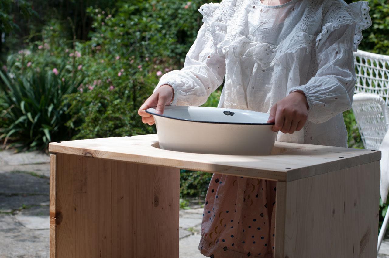 DIY Waschtisch Montessori Anleitung 03 - ein Waschtisch nach Montessori