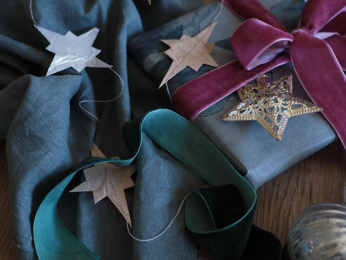 Sternengirlande tetrapack upcycling 02 - Upcycling | Sternengirlande aus leeren Tetrapacks