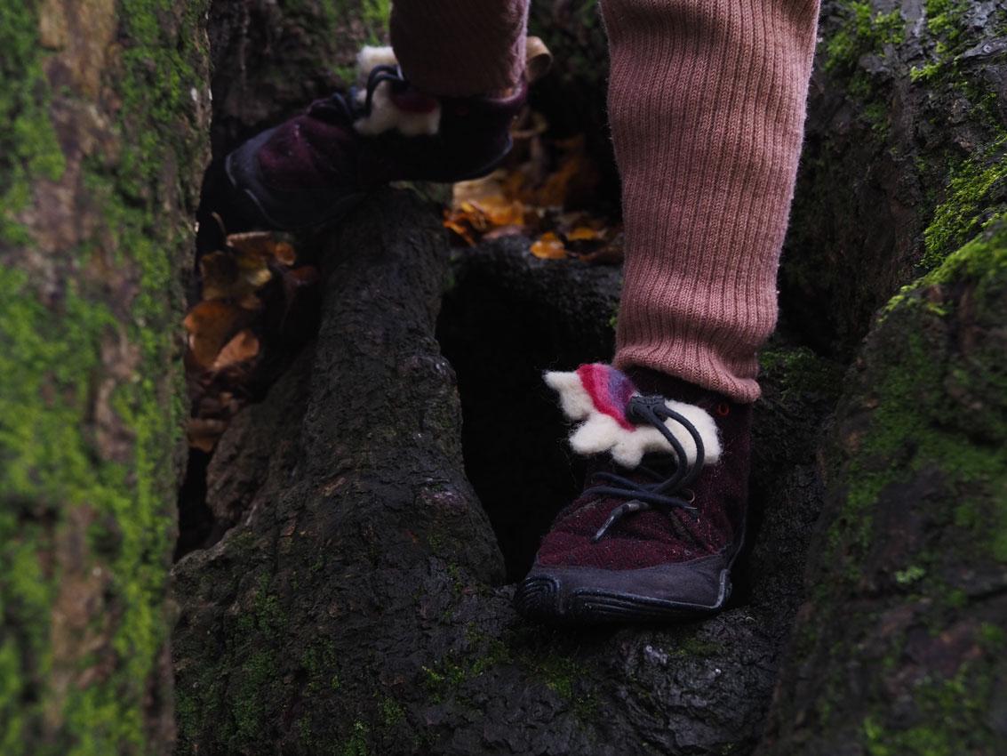 wildling Filzbegleiter Einhorn Schuhe 05 - Wildlinge imprägnieren & gefilzte Einhornbegleiter