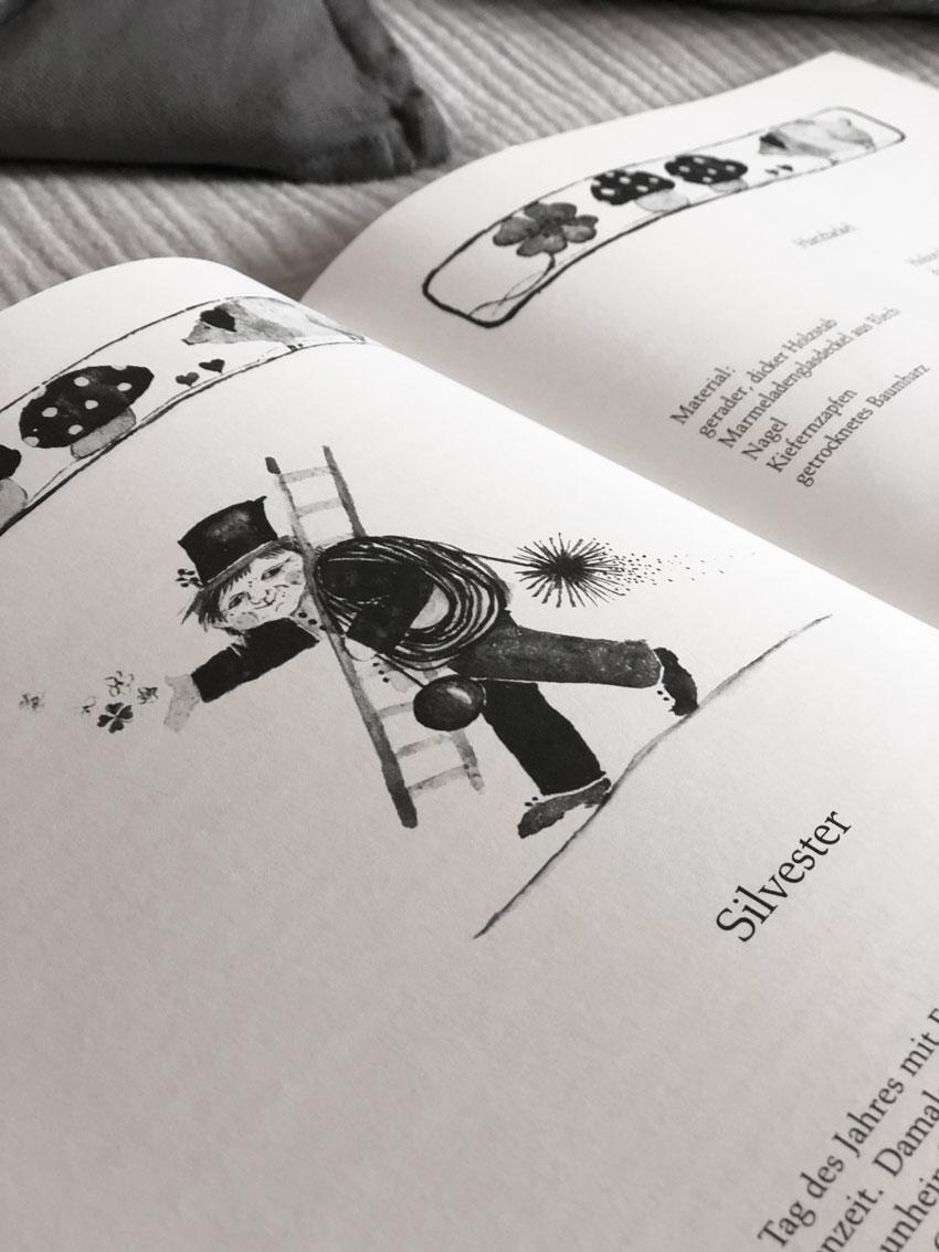 diy rezepte jahreszeitentisch sylvester jahreszeitenbuch 02 - Bienenwachs | leuchtend & duftend durchs Jahr Richtung Silvester